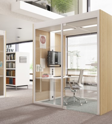 office pods. Boss Design Delivers A New \u0027Aspect\u0027 On Office Pods Y